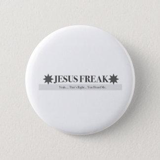 God Squad Jesus Freak 2 Inch Round Button