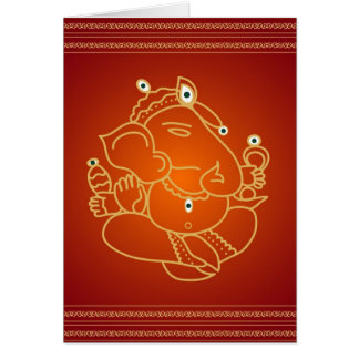 God SriGanesha - Card