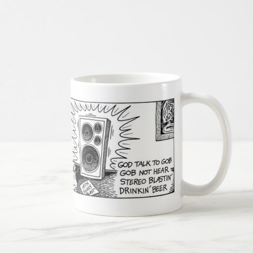 God talks to Gob Coffee Mugs