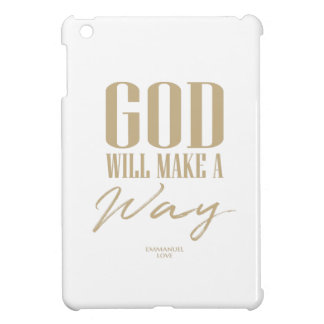 God will make a way case for the iPad mini