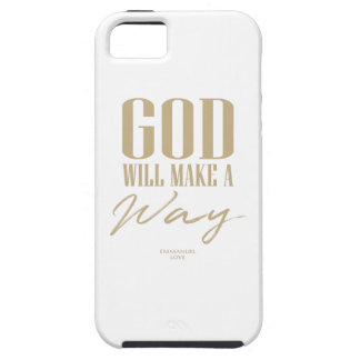 God will make a way iPhone 5 cover
