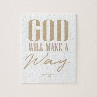 God will make a way jigsaw puzzle