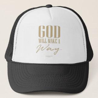 God will make a way trucker hat
