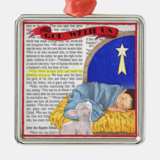 God With Us Christmas Ornament
