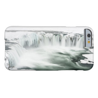 Godafoss waterfall, winter, Iceland Barely There iPhone 6 Case