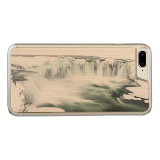 Godafoss waterfall, winter, Iceland Carved iPhone 7 Plus Case