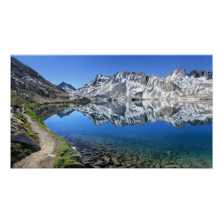 Goddard Divide At Wanda Lake - John Muir Trail Poster