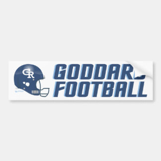 Goddard Rockets Football Bumper Sticker