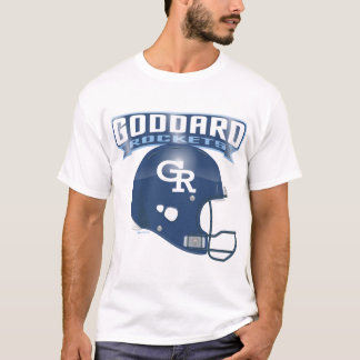 Goddard Rockets Football Helmet T-Shirt