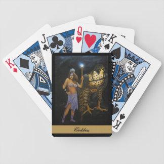 Goddess Acrylic Painting Playing Cards