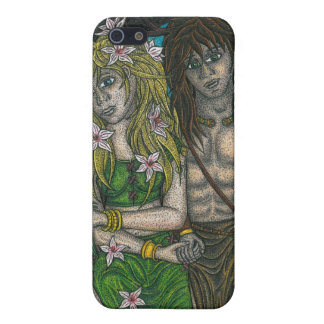 Goddess and the Horned God iPhone 5/5S Cover
