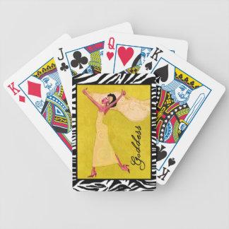 """Goddess"" Bicycle Playing Cards"