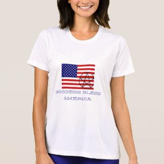 GODDESS BLESS AMERICA T-Shirt