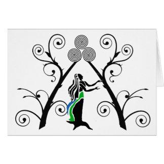 Goddess Blessings Card