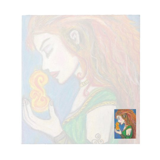 Goddess Brigid Notepad