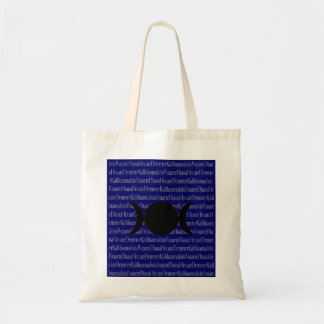 Goddess Chant (dark blue) Tote Bag