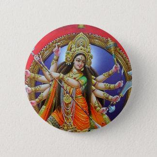 Goddess Durga 2 Inch Round Button