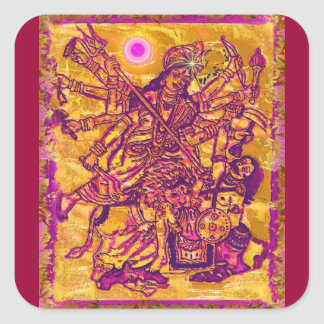 Goddess Durga Sticker