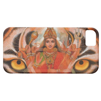 Goddess Durga & Tiger Eyes iPhone 5 Case