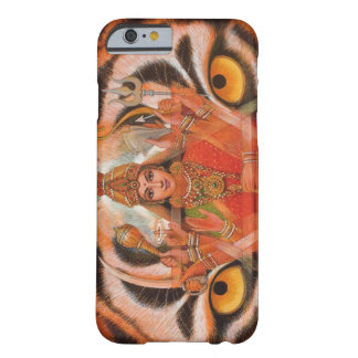 Goddess Durga & Tiger Eyes iPhone 6 case Barely There iPhone 6 Case