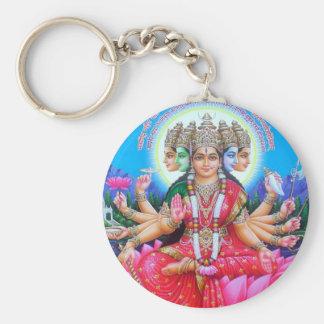 Goddess Gayatri Devi Keychain