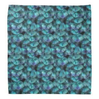 Goddess Isis Blue Feathers Bandana