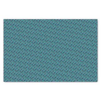 Goddess Isis Blue Feathers Tissue Paper