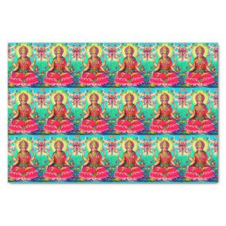 Goddess Lakshmi bright tissue paper