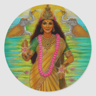 Goddess Lakshmi Sticker