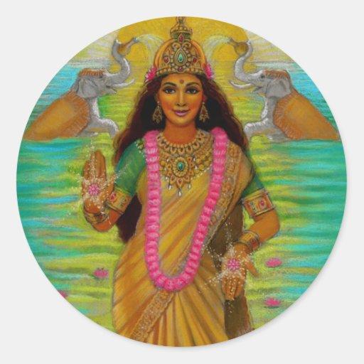 Goddess Lakshmi Sticker