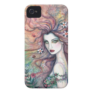 Goddess of Flowers Fairy Fantasy Art iPhone Case