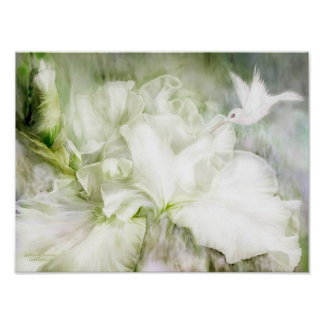 Goddess Of Innocence Iris Art Poster/Print Poster