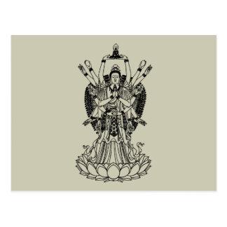 Goddess Of Mercy Postcard