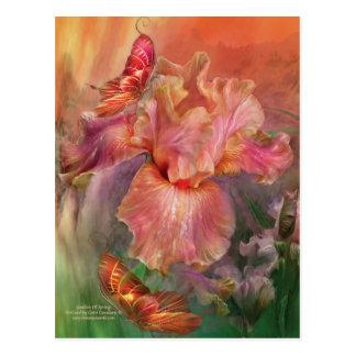 Goddess Of Spring Art Postcard