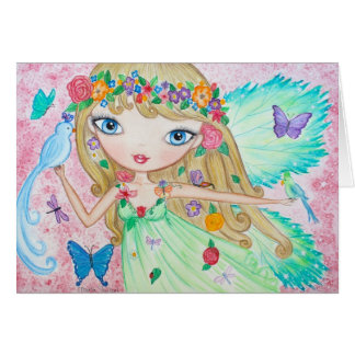 """Goddess of Spring"" Card"