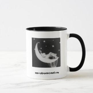 Goddess On The Moon Coffee Mug