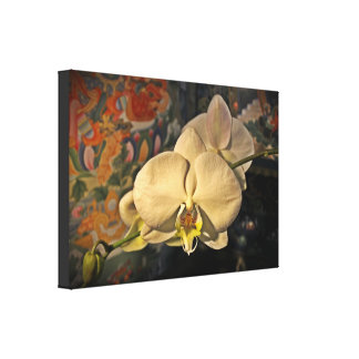 "Goddess Orchid || Wrapped Canvas (24"" x 16"")"