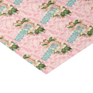 Goddess pink birds and rose tissue paper