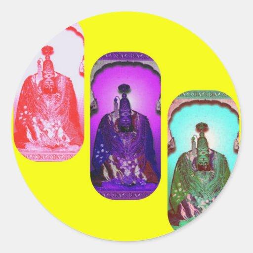 Goddess Power Yellow Stickers
