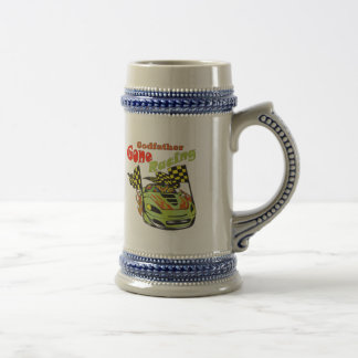 Godfather Gone Racing Gifts Beer Steins