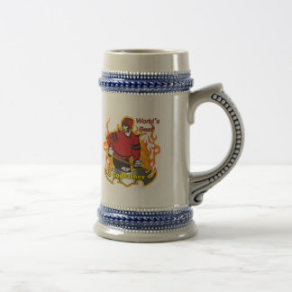 Godfather Hockey Father's Day Gifts 18 Oz Beer Stein