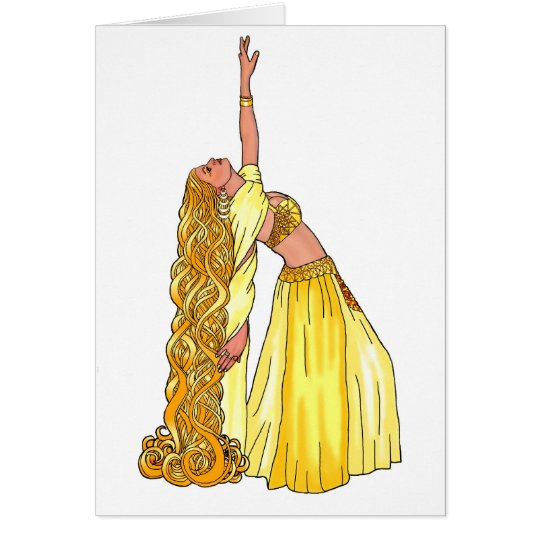 Godiva Belly Dancer Products Card