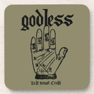 Godless Atheist Coaster