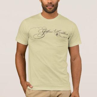 Godless Heathen Atheist's T-shirt Elegant Script