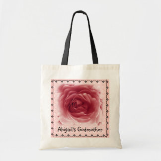 GODMOTHER Bag - PINK Rose with Lace