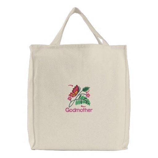 Godmother Embroidered Bag
