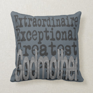 Godmother Extraordinaire Throw Pillow