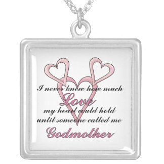 Godmother (I Never Knew) Mother's Day Necklace