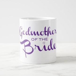 Godmother of Bride Mug Purple Jumbo Mug