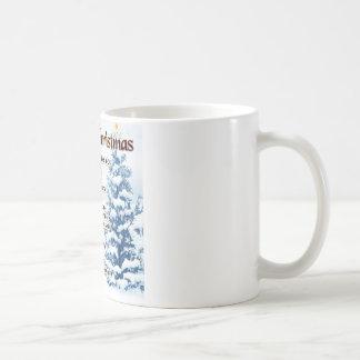 Godmother poem - christmas design basic white mug